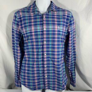 Original Penguin Plaid Longsleeve Shirt Slim Fit